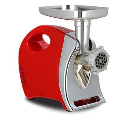 Máquina para Picar Carne 600W Hogar Eléctrico De Acero Inoxidable Mezcla De Carne Picada Pequeña Salchicha