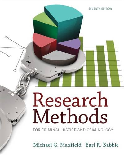 Resrch.Methods.F/Criminal Justice.....