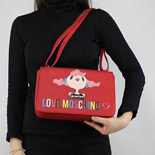 Love Moschino Charming bag shoulder bag red