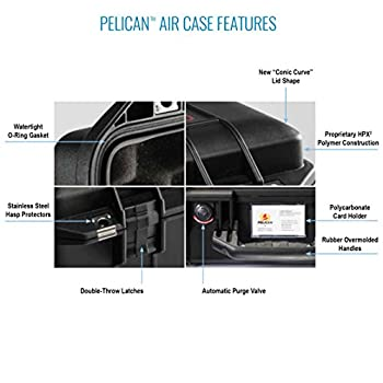 Pelican Air 1555 With Padded Dividers (Black) 3
