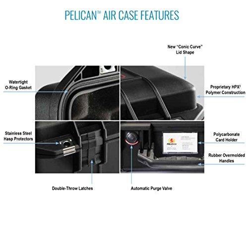 Pelican Air 1535 Case No Foam (Black) by Pelican (Image #5)