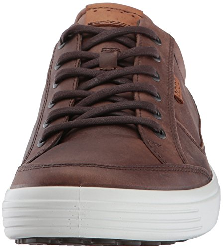 ECCO Men's Soft 7 Fashion Sneaker, Cocoa Brown,42 EU / 8-8.5 US