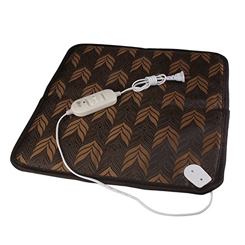 Buildent(TM) Oxford Fabric Pet Dog Mats Waterproof Electric Heating Pad Warmer Blanket for Cats Dogs Winter Warm Pet Bed Mats