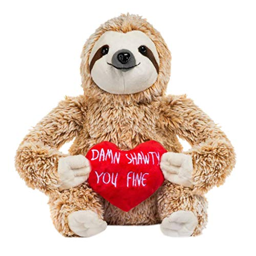 Zumint Stuffed Animals for Valentines Day Girlfriend Gifts Valentine Sloth Bear for Her Cute Funny Vday Gifts for Boyfriend