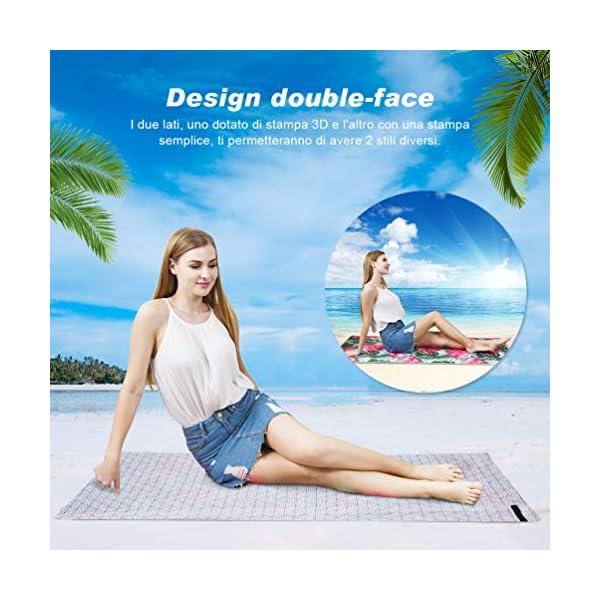 VBIGER Telo Mare Asciugamani Mare Abbigliamento da Mare Telo Mare Donna Bikini Coprire 4 spesavip