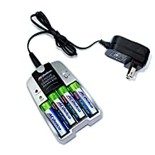 ACDelco 2-hour Battery Charger for NiMH AA and AAA Rechargeable Batteries