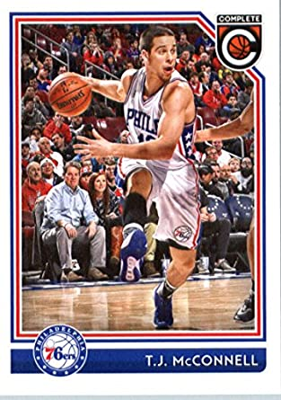 2016-17 Panini Complete  12 T.J. McConnell Philadelphia 76ers Basketball  Card 7da5d0ae0