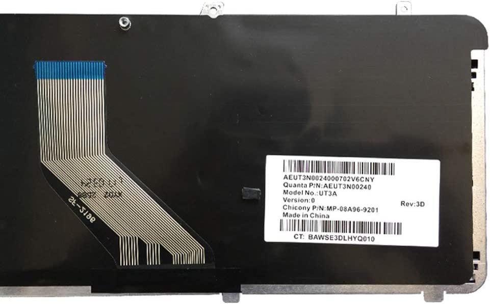 Laptop Replacement Keyboard Fit HP Pavilion DV6-2120EE DV6-2131EE DV6-2134EE DV6-2135EE DV6-2138EE DV6-2101TU DV6-2157WM 640436-061 518965-061 US Layout
