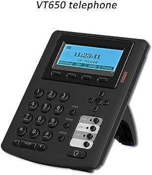 DHLIZI Teléfono para consumidores Línea Directa VT650 Teléfono IP ...