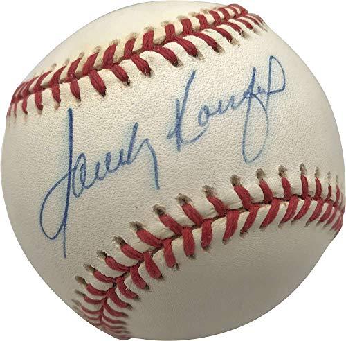 Sandy Koufax Memorabilia - Sandy Koufax Signed Autographed ONL White Baseball Beckett BAS