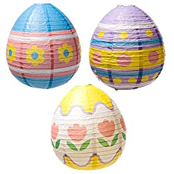 Easter Egg Lantern Decorations