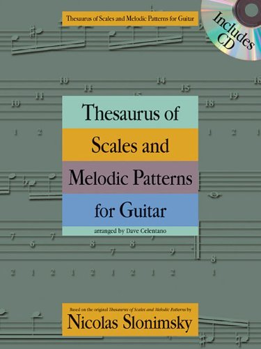 Nicolas Slonimsky: Thesaurus of Scales and Melodic Patterns (Guitar) by Nicolas Slonimsky (Original Author) (27-Mar-2013) Paperback