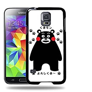 Case88 Designs Kumamon Protective Snap-on Hard Back Case Cover for Samsung Galaxy S5