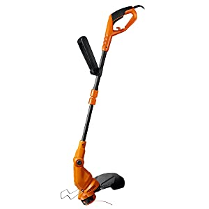 "Worx WG119 15 Electric String Trimmer, 4.9"" x 9.2"" x 38.6"" Orange and Black"