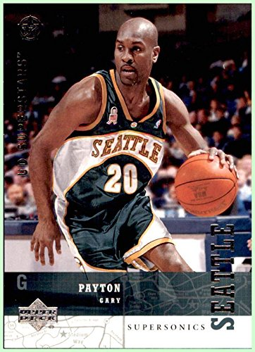 2002-03 Upper Deck UD SuperStars #223 Gary Payton SEATTLE SUPERSONICS OREGON STATE BEAVERS