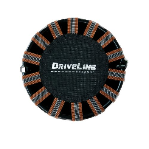 Driveline Recovery Mini Trampoline - 18'' Portable Folding Trampoline with Carrying Case by Driveline Baseball