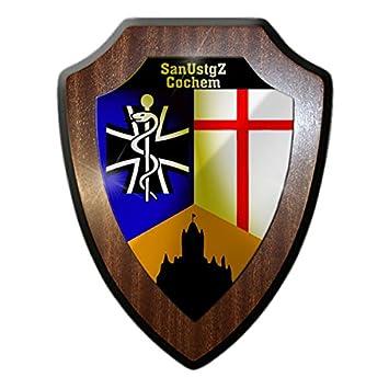 Amazon.de: Wappenschild / Wandschild -SanUstgZ Cochem ... | {Sanitäter logo bundeswehr 72}
