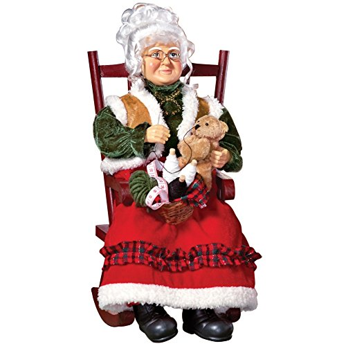 Mrs. Claus in Rocking Chair Tabletop Decoration (Mrs Claus Christmas)