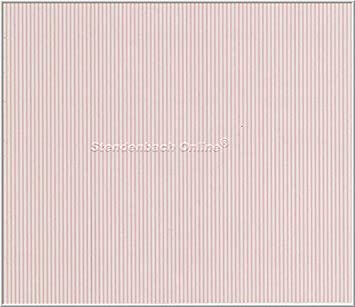 Pink and White Candy Stripe Vinyl Wallpaper Galerie LW26447