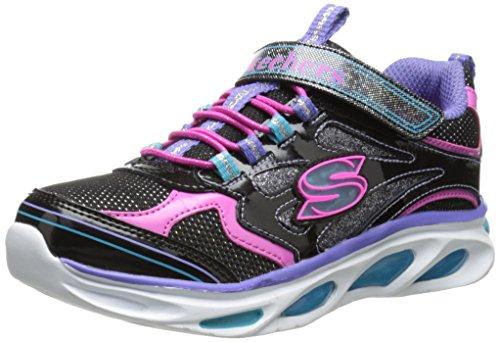 Skechers Blissful Mädchen Sneakers Schwarz (Bkmt)