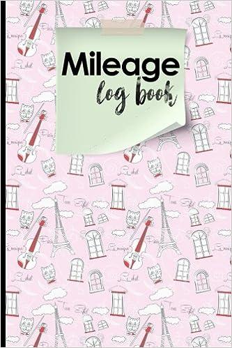 amazon com mileage log book mileage book for car mileage keeper