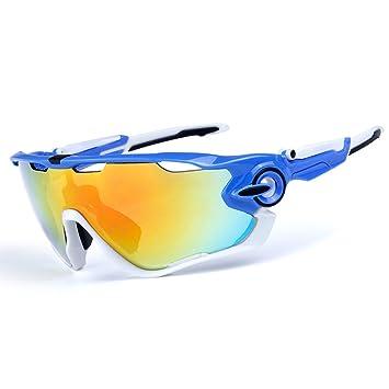Ciclismo Gafas de Sol polarizado Hombres Gafas Deportivas 4 Lentes Ciclismo Gafas Gafas de Bicicleta