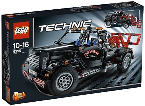 Lego Technic: Pick-up Tow Truck #9395 (Pick Up Technics)