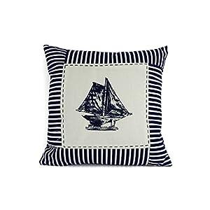 51E2l5zskaL._SS300_ 100+ Nautical Pillows & Nautical Pillow Covers