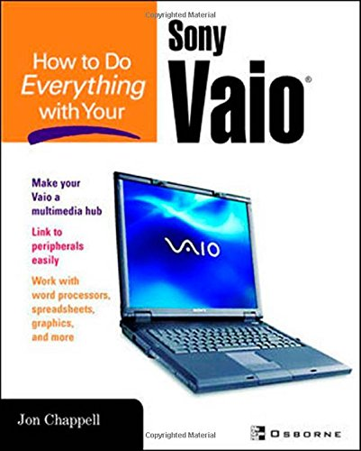 Price comparison product image How to Do Everything with Your Sony Vaio (How to Do Everything)