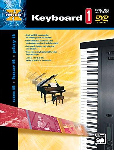 Alfreds Max Keyboard - Alfred's MAX Keyboard, BK 1 (Book & DVD)