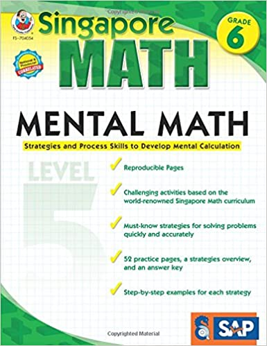 Amazon.com: Mental Math, Grade 6: Strategies and Process Skills to ...