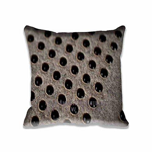 Felt Pattern Digital Print Pillow Cover Square Pillow Case Sofa Cushion Cover Deco 16x16 inch(2 Sides) ()