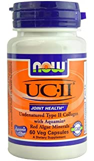NOW UC-II® Joint Health -- 60 Veg Capsules - 3PC