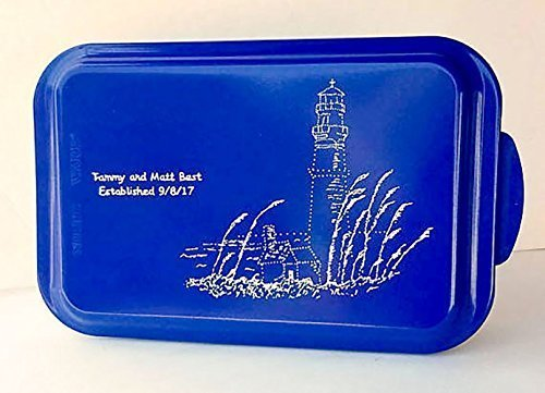 Personalized Engraved Lighthouse Cake Pan