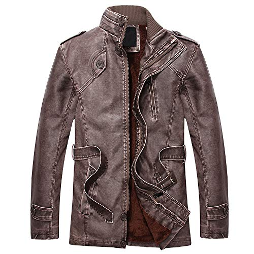 YKARITIANNA Men's 2018 New Coat,Fashion Autumn Winter, used for sale  Delivered anywhere in USA