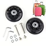 ABBOTT OD. 80 mm Wide 22 mm Axle 30 mm Luggage Suitcase/Inline Outdoor Skate Replacement Wheels with ABEC 608zz Bearings