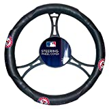 The Northwest Company MLB Texas Rangers Licensed Steering Wheel Cover, One Size, Multicolor