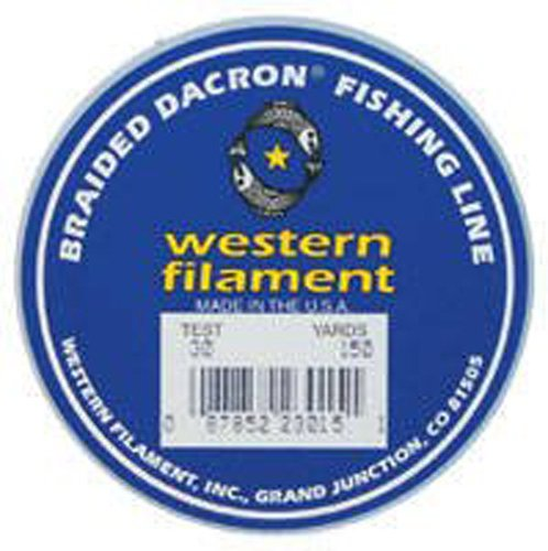 TUF LINE Western Filament Dacron Line 50, 300-Yard