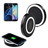Galaxy S7/S7 Edge Wireless Charger, Lookatool Qi Wireless Power Charger Charging Pad For Samsung Galaxy S7/S7 Edge (White )