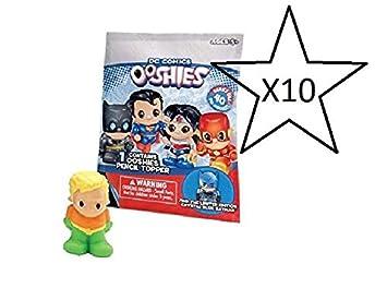 DC Comics Ooshies Bolsos ciegos - 10 bolsas suministrada (Se ...