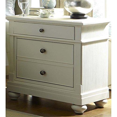 Liberty Furniture Harbor View II Bedroom 2-Drawer Night Stand, Linen ()