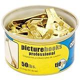 OOK (50674) Professional Picture Pro Hanger Set, 50 lb (10 hooks/20 nails)
