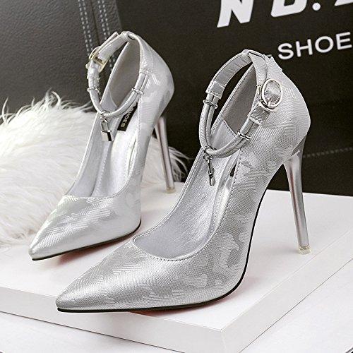 mujer de tac XiaoGao Zapatos de 1wqggS
