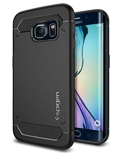 Spigen Rugged Armor Galaxy S6 Edge Case with Resilient Shock