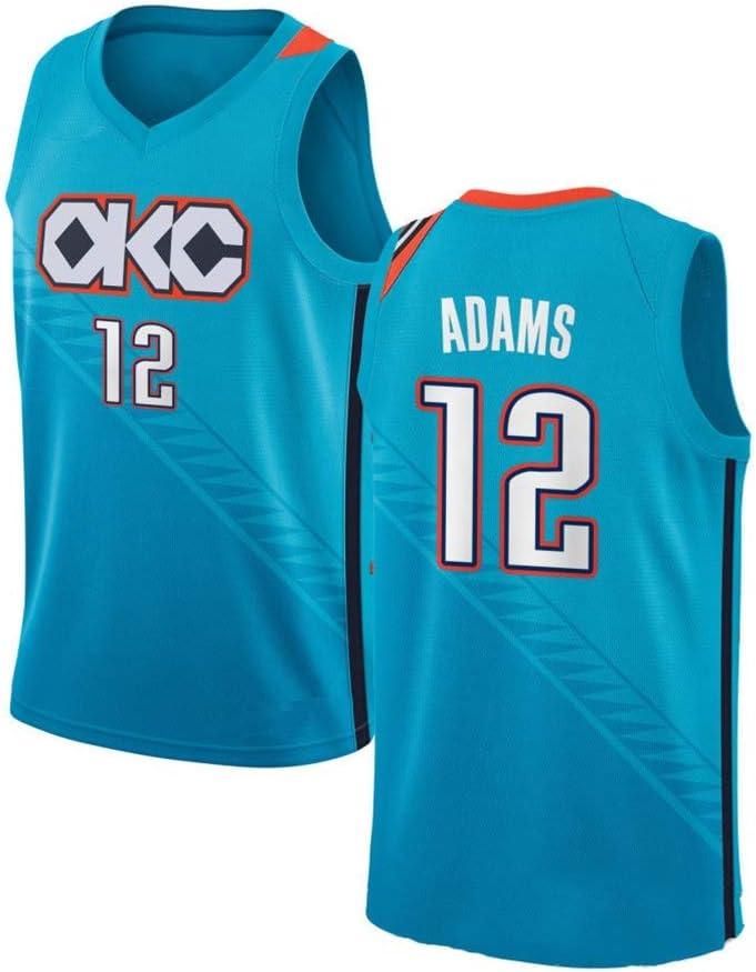 WSF Jersey Baloncesto Masculino Camisetas de la NBA Steven Adams ...