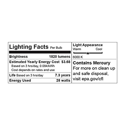 LimoStudio 45-Watt Photo CFL Full Spectrum Light Bulb by LimoStudio, AGG1758