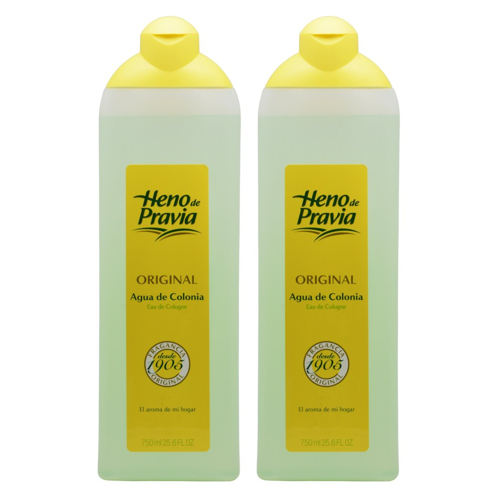 Heno De Pravia Original Agua De Colonia 25.6oz (Pack of 2)
