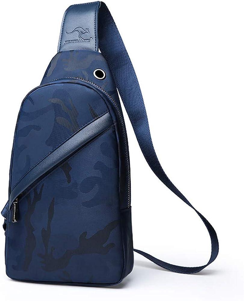 Kstare Messenger Bag for Women Men Unisex Leather Vintage Canvas Handbag Shoulder Bags
