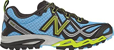 New Balance Women's WT710 Trail Running Shoe,Teal/Black,5.5 D US