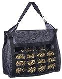 Tough 1 Heavy Denier Nylon Hay Tote Bag in Prints, Tooled Leather Black